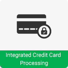 Integrated Credit Card Processing - InfoPOS